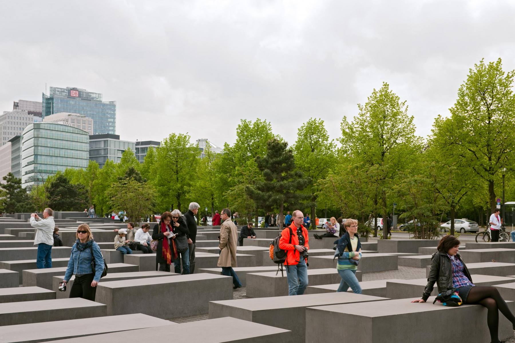 Berlin, Holocaust Denkmal