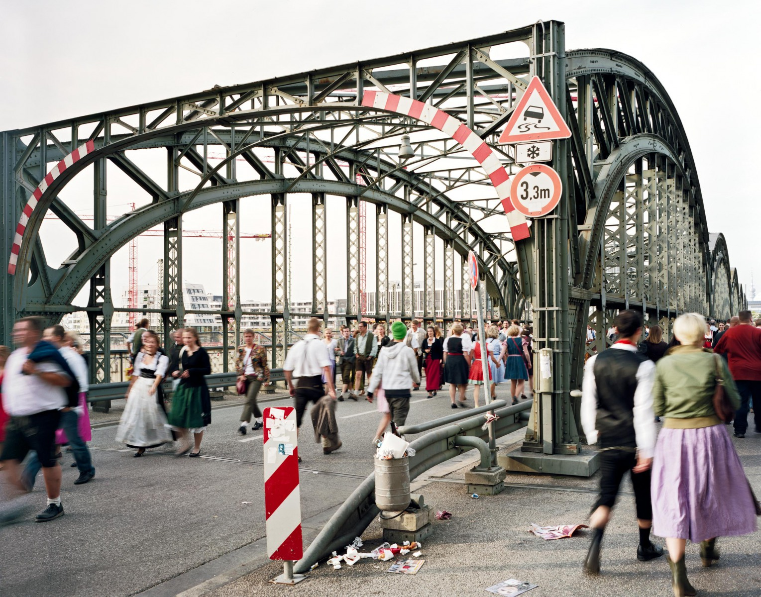 Hackerbrücke, September 2009